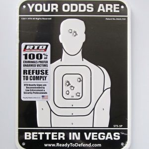 STS-5P - Super-Tough & Flexible HDPE Sign Panel - Your Odds Are Better in Vegas™-0