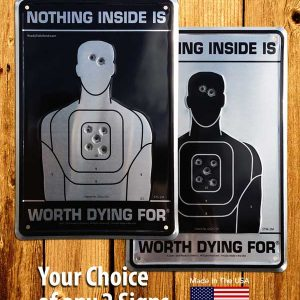 Gift Pack Metal Sign Bundle - Choose 2 Signs - Keep One and Give the Other!-0